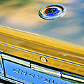 1964 Chrysler 300k Convertible Emblem -3529c by Jill Reger