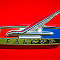 1964 Ford Falcon Emblem by Jill Reger