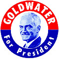 1964 Goldwater For President by Historic Image