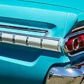 1964 Mercury Comet Taillight Emblem by Jill Reger