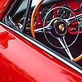 1964 Porsche 356 Carrera 2 Steering Wheel by Jill Reger