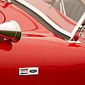 1964 Shelby Cobra 289 Street Roadster Emblem by Jill Reger