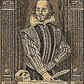 1964 William Shakespeare Postage Stamp by David Patterson