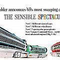 1965 - Rambler - Ambassador - American - Automobile Advertisement - Color by John Madison