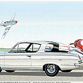 1965 Barracuda  Classic Plymouth Muscle Car by John Samsen