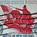 1965 Battle Of New Orleans Stamp by Bill Owen