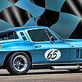 1965 Corvette by Sylvia Thornton