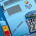 1965 Fiat Taillight by Jill Reger