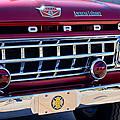 1965 Ford American Lafrance Fire Truck by Jill Reger