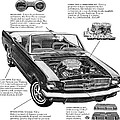 1965 Ford Mustang Performance Kits by Digital Repro Depot