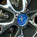 1965 Ford Mustang Wheel Rim by Jill Reger