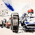 1965 Grand Prix De Paris by Georgia Fowler