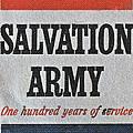1965 Salvation Army Stamp by Bill Owen