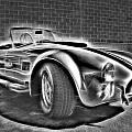 1965 Shelby Cobra - 3 by Becca Buecher
