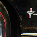 1965 Shelby Prototype Ford Mustang Emblem -0248c by Jill Reger