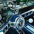 1965 Shelby Prototype Ford Mustang Steering Wheel Emblem 2 by Jill Reger