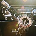 1965 Shelby Prototype Ford Mustang Steering Wheel Emblem by Jill Reger