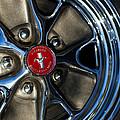 1965 Shelby Prototype Ford Mustang Wheel by Jill Reger