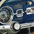 1965 Volkswagen Vw Beetle Steering Wheel by Jill Reger