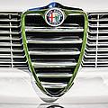 1966 Alfa Romeo Gtc Grille Emblem -1438c by Jill Reger