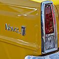 1966 Chevrolet Nova Taillight Emblem by Jill Reger