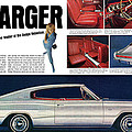 1966 Dodge Charger - New Leader Of The Dodge Rebellion by Digital Repro Depot