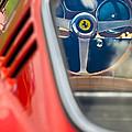 1966 Ferrari 275 Gtb Steering Wheel -0408c by Jill Reger