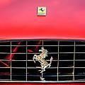 1966 Ferrari 330 Gtc Coupe Hood Emblem -0391c by Jill Reger