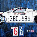 1966 Ford Gt40 License Plate Art By Design Turnpike by Design Turnpike