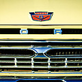 1966 Ford Pickup Truck Grille Emblem by Jill Reger