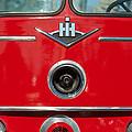 1966 International Harvester Pumping Ladder Fire Truck - 549 Ford Gas Motor by Jill Reger