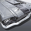 1966 Mustang Hood And Headlight by Gill Billington