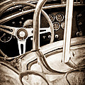 1966 Shelby 427 Cobra Steering Wheel Emblem by Jill Reger