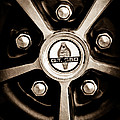1966 Shelby Cobra Gt350 Wheel Rim Emblem by Jill Reger