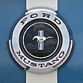 1966 Shelby Gt 350 Emblem Gas Cap by Jill Reger