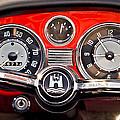 1966 Volkswagen Vw Karmann Ghia Steering Wheel by Jill Reger