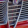 1967 Alfa Romeo Giulia Super Grille Emblem by Jill Reger