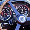 1967 Aston Martin Db6 Volante Steering Wheel 2 by Jill Reger