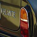 1967 Aston Martin Db6 Volante Tail Light by Jill Reger