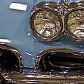1967 Blue Corvette-front Left by Eti Reid