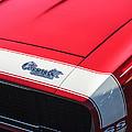 1967 Chevrolet Camaro Ss 350 Convertible Hood Emblem by Jill Reger