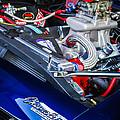 1967 Chevrolet Camaro Ss 350 Engine - Hood Emblem  by Jill Reger