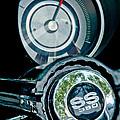 1967 Chevrolet Camaro  Ss Steering Wheel Emblem Emblem by Jill Reger