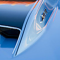 1967 Chevrolet Corvette 427 Hood Emblem 3 by Jill Reger
