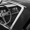 1967 Ferrari 275 Gtb-4 Berlinetta Steering Wheel by Jill Reger