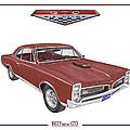 1967 G T O Pontiac by Jack Pumphrey