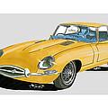 1967 Jaguar X K E Coupe by Jack Pumphrey