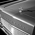 1967 Lincoln Continental Hood Ornament - Emblem -646bw by Jill Reger