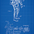 1967 Nasa Astronaut Ventilated Space Suit Patent Art 1 by Nishanth Gopinathan