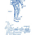 1967 Nasa Astronaut Ventilated Space Suit Patent Art 2 by Nishanth Gopinathan